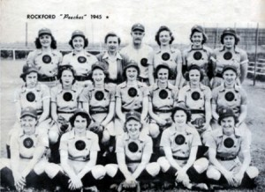 1945 Rockford Peaches