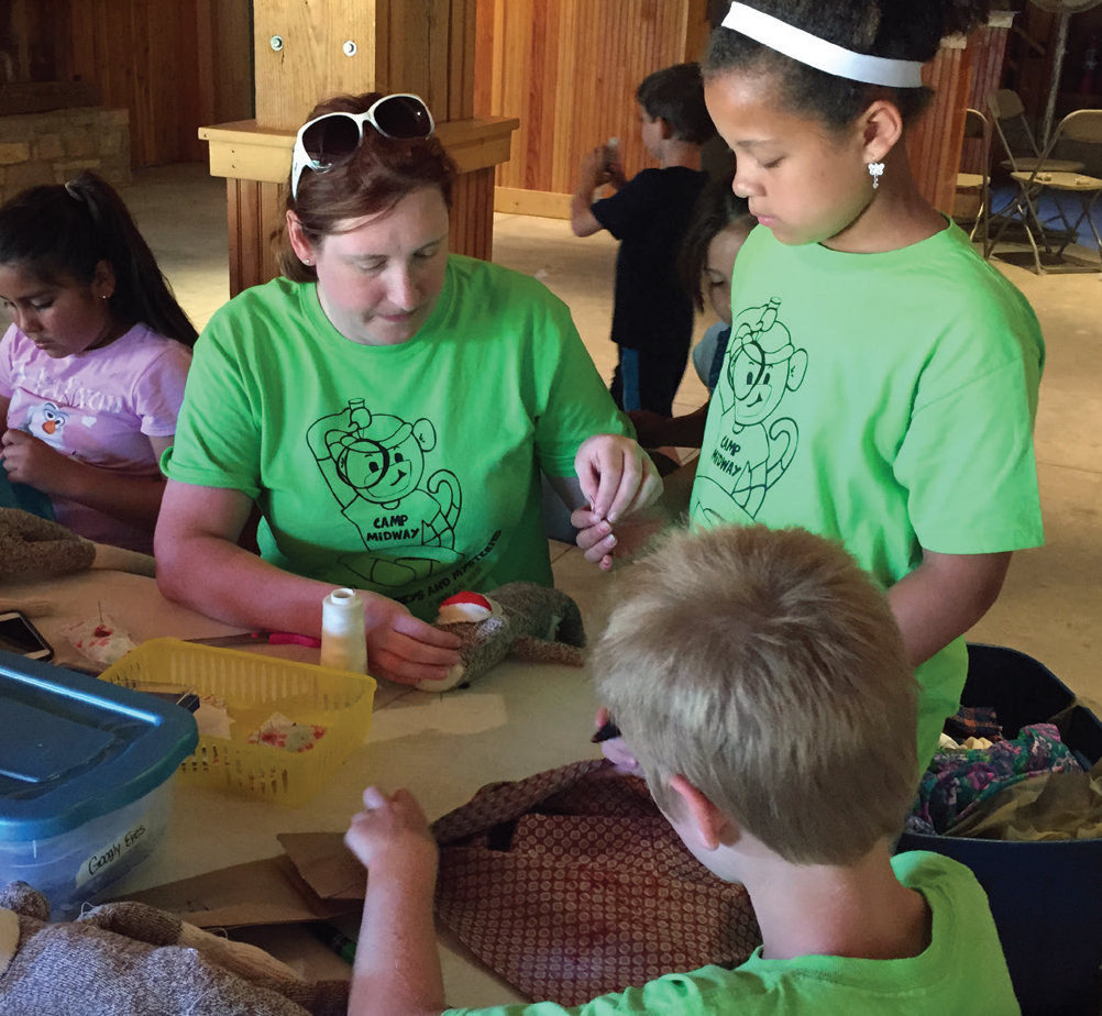 Summer Camp at Midway Village